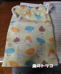 15  蜜瓜さんお手製の巾着.jpg