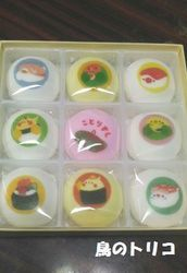 15 お寿司インコマシュマロ写真.jpg