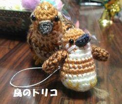 17 前に届いた茶子ちゃんの編みぐるみと.jpg