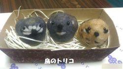 7 羊毛フェルト ヒメウズラ3兄弟姉妹.jpg
